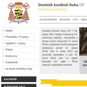 Dominik Duka, arcibiskup pražský